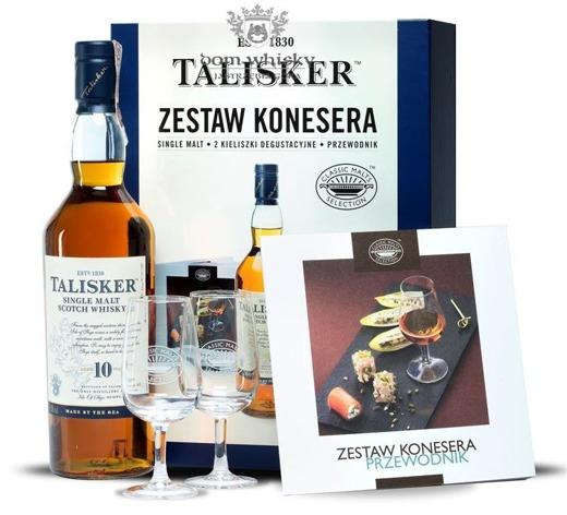 Talisker 10 letni Zestaw Konesera / 45,8% / 0,7l