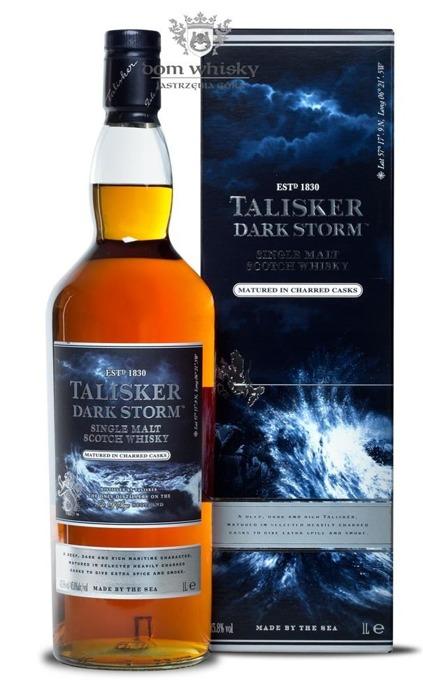 Talisker Dark Storm / Charred Casks / 45,8% / 1,0l