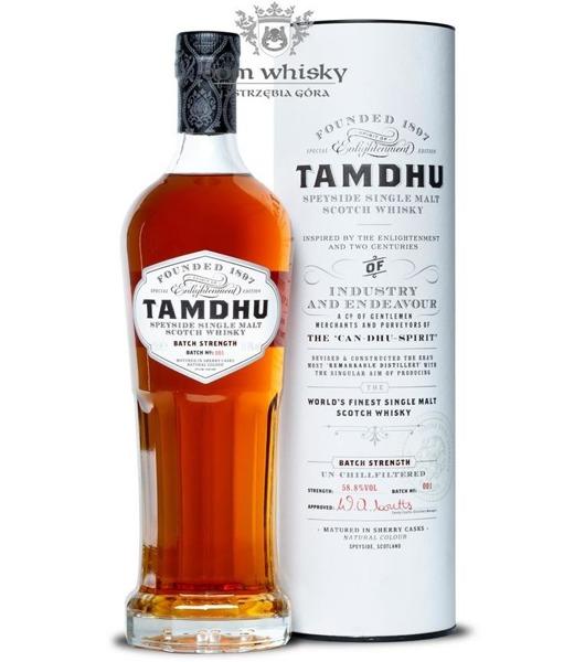 Tamdhu Batch Strenght Single Malt / 58,8% / 0,7l