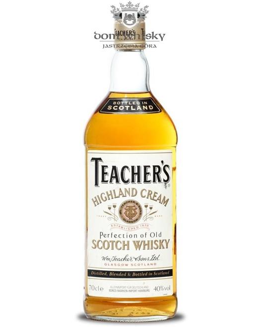 Teachers Highland Cream Scotch Whisky / 40% / 0,7l