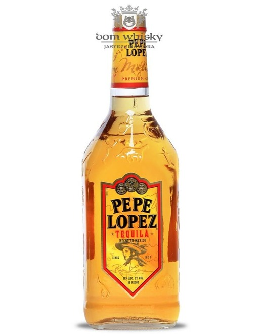 Tequila Pepe Lopez Gold / 40% / 1,0l
