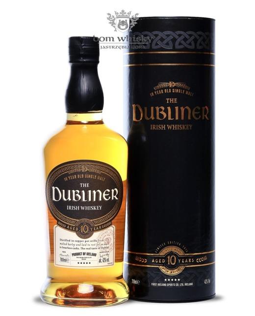 The Dubliner 10-letni Irish Whiskey Bourbon Cask / 42% / 0,7l