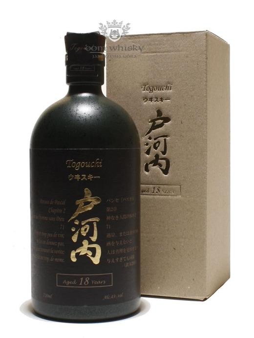Togouchi 18 letni / 43% / 0,72l