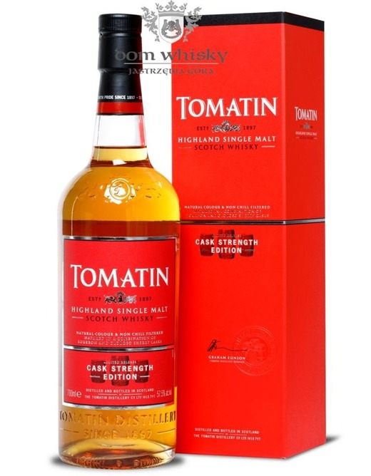 Tomatin Cask Strength Edition / 57,5% / 0,7l