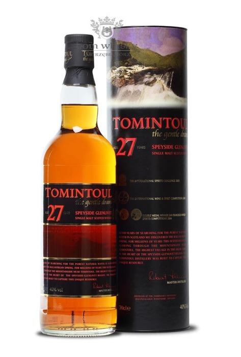 Tomintoul 27-letni The Gentle Dram / 40% / 0,7l
