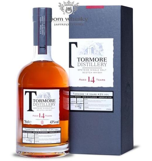 Tormore 14-letni, Bottled 2015 / 43% / 0,7l