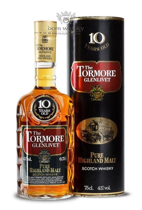 Tormore Glenlivet 10 letni Pure Highland Malt / 43% / 0,75l