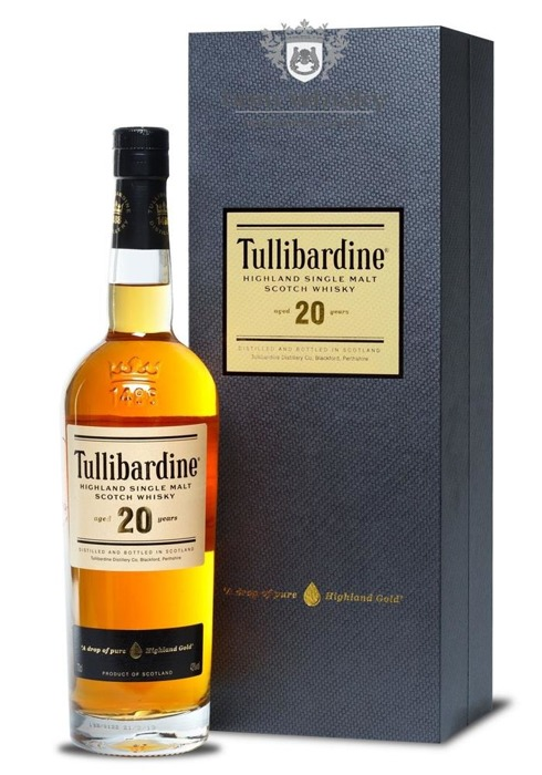 Tullibardine 20-letni Single Malt / 43% / 0,7l