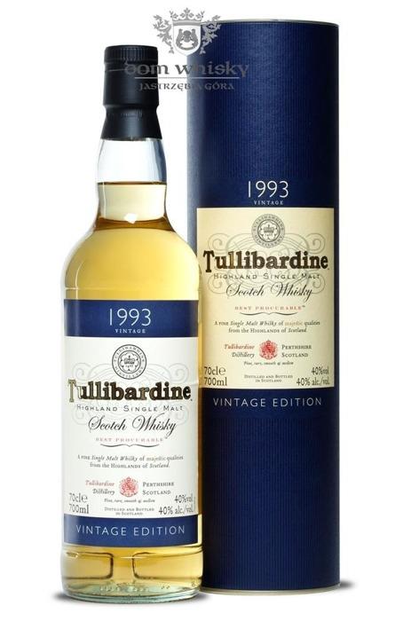 Tullibardine D.1993 B.2010 / 40% / 0,7l
