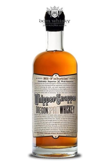 Whipper Snapper Oregon Spirit Whiskey / 42% / 0,75l