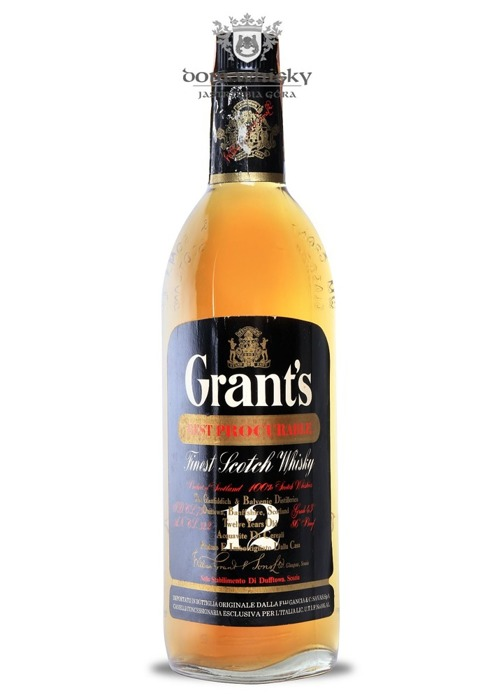 William Grant's 12-letni, Best Procurable / 43% / 0,75l