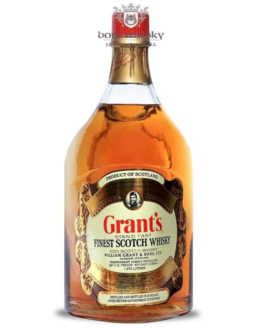 William Grant's Stand Fast, (Label No. 11512) / 43% / 1,875l