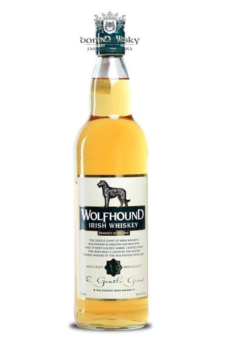 Wolfhound Irish Whiskey / 40% / 0,75l