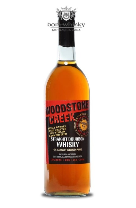 Woodstone Creek Single Barrel Bourbon / 47% / 0,75l
