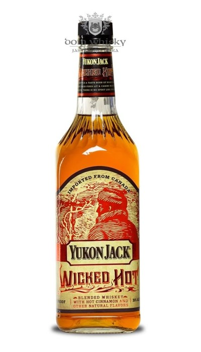 Yukon Jack Wicked Hot Cinnamon Canadian / 35% / 0,75l