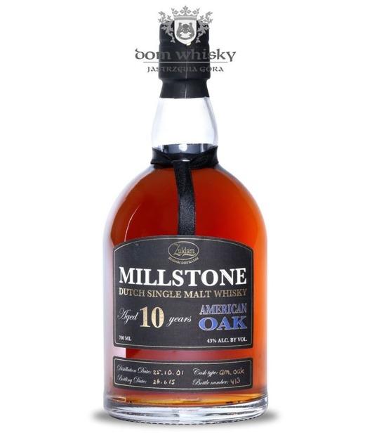 Zuidam Millstone 10-letni, American Oak (Holandia) / 43% / 0,7l
